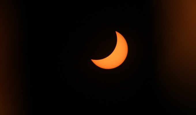 solar eclipse replay